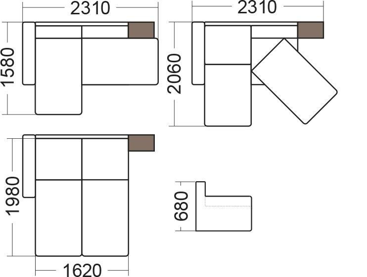 Ячейковая коридорная схема